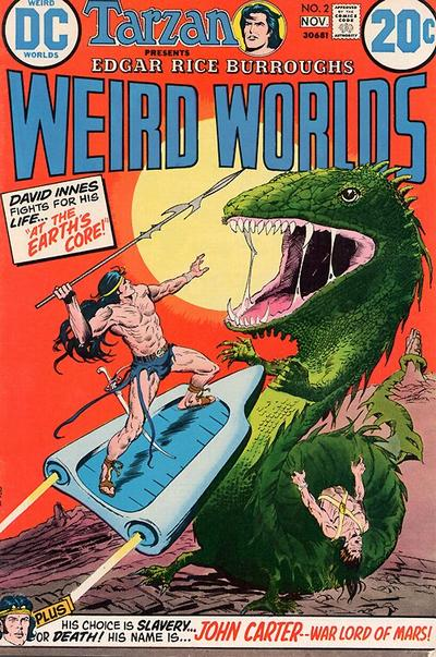 Cover for Weird Worlds (DC, 1972 series) #2