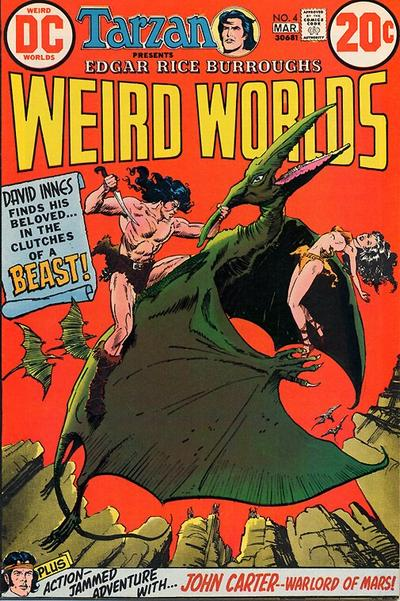 Cover for Weird Worlds (DC, 1972 series) #4