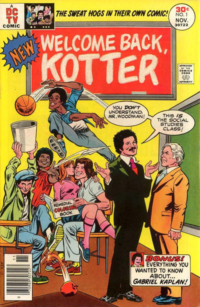 Cover for Welcome Back, Kotter (DC, 1976 series) #1