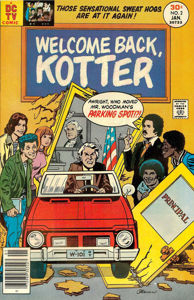 Cover for Welcome Back, Kotter (DC, 1976 series) #2