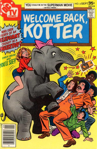 Cover for Welcome Back, Kotter (DC, 1976 series) #6