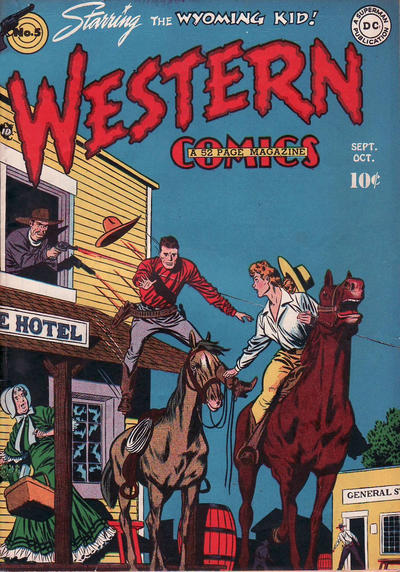 Cover for Western Comics (DC, 1948 series) #5