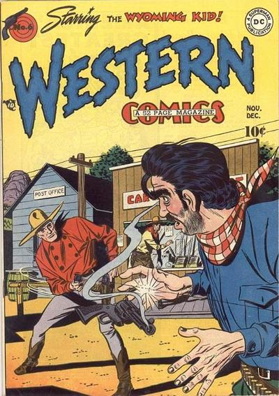 Cover for Western Comics (DC, 1948 series) #6