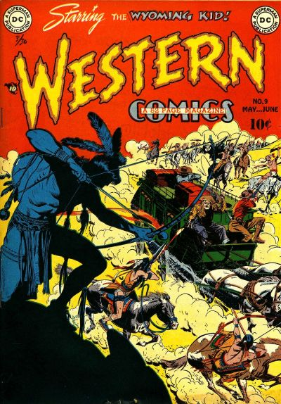 Cover for Western Comics (DC, 1948 series) #9
