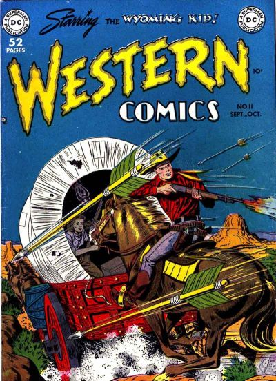 Cover for Western Comics (DC, 1948 series) #11