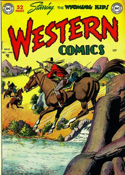 Cover for Western Comics (DC, 1948 series) #12