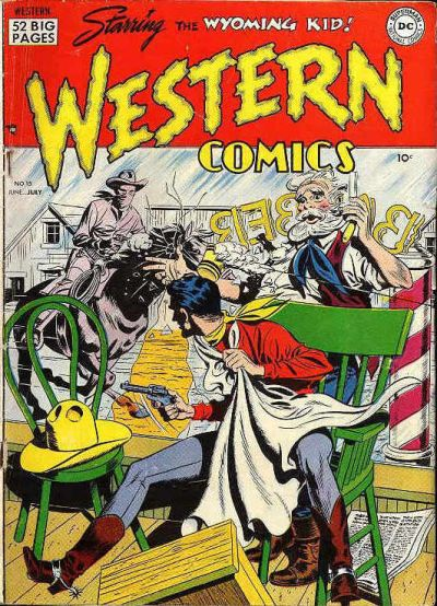 Cover for Western Comics (DC, 1948 series) #15