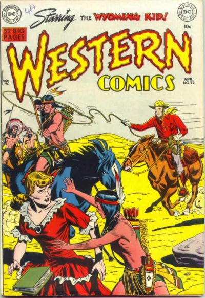Cover for Western Comics (DC, 1948 series) #22