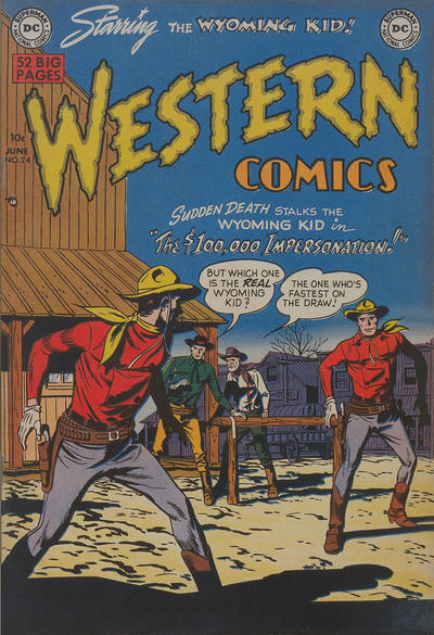 Cover for Western Comics (DC, 1948 series) #24