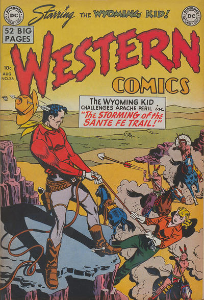 Cover for Western Comics (DC, 1948 series) #26