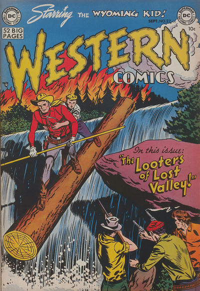 Cover for Western Comics (DC, 1948 series) #27