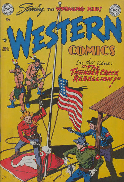 Cover for Western Comics (DC, 1948 series) #28