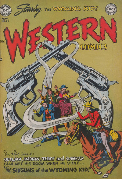 Cover for Western Comics (DC, 1948 series) #29