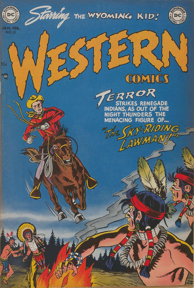 Cover for Western Comics (DC, 1948 series) #31