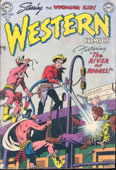 Cover for Western Comics (DC, 1948 series) #35