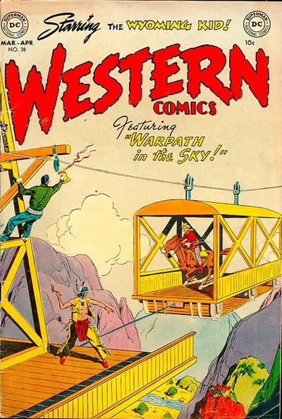 Cover for Western Comics (DC, 1948 series) #38