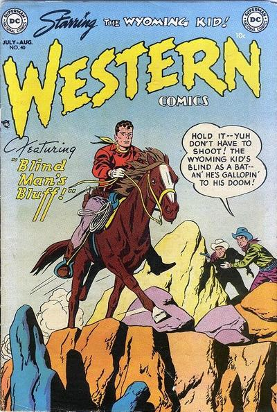 Cover for Western Comics (DC, 1948 series) #40