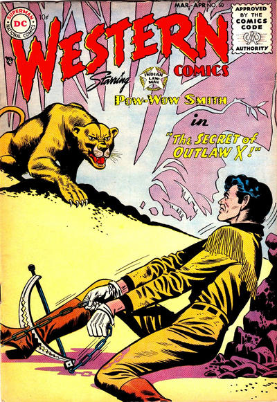 Cover for Western Comics (DC, 1948 series) #50