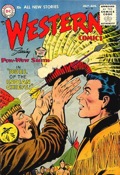 Cover for Western Comics (DC, 1948 series) #52