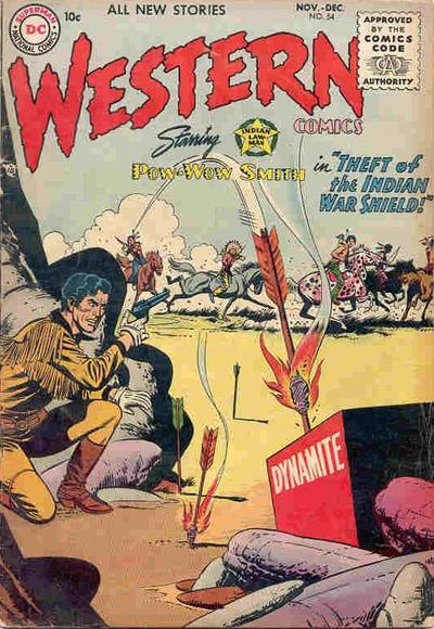 Cover for Western Comics (DC, 1948 series) #54