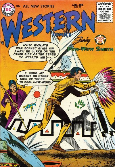 Cover for Western Comics (DC, 1948 series) #55