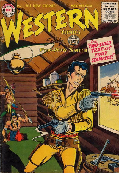 Cover for Western Comics (DC, 1948 series) #56