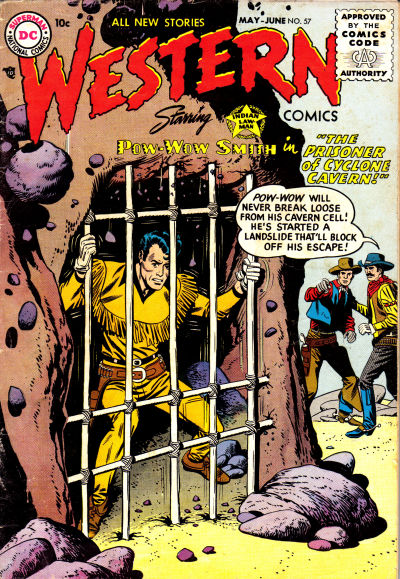 Cover for Western Comics (DC, 1948 series) #57