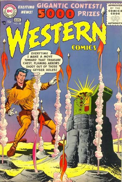 Cover for Western Comics (DC, 1948 series) #58