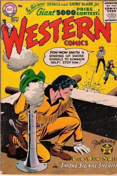Cover for Western Comics (DC, 1948 series) #59