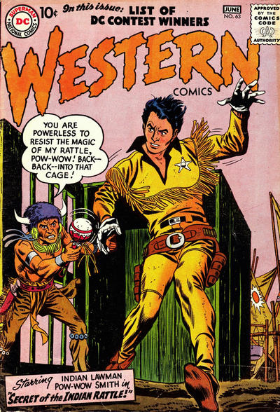 Cover for Western Comics (DC, 1948 series) #63