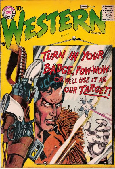 Cover for Western Comics (DC, 1948 series) #69