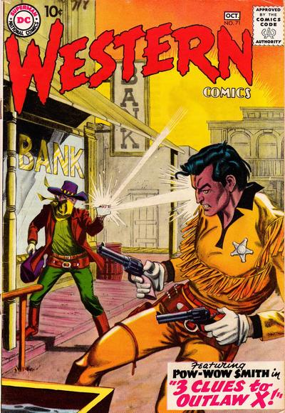 Cover for Western Comics (DC, 1948 series) #71