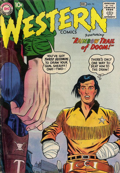 Cover for Western Comics (DC, 1948 series) #72