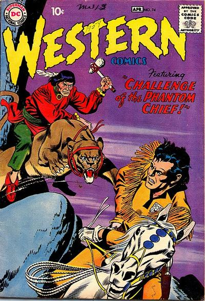 Cover for Western Comics (DC, 1948 series) #74