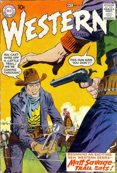 Cover for Western Comics (DC, 1948 series) #77