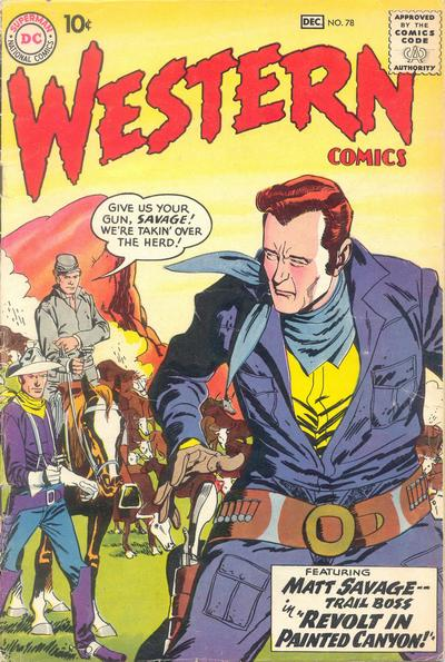Cover for Western Comics (DC, 1948 series) #78