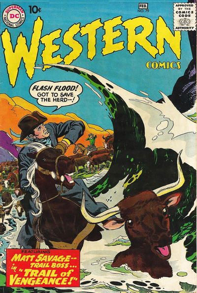 Cover for Western Comics (DC, 1948 series) #79