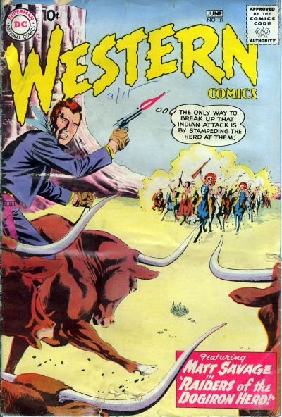 Cover for Western Comics (DC, 1948 series) #81