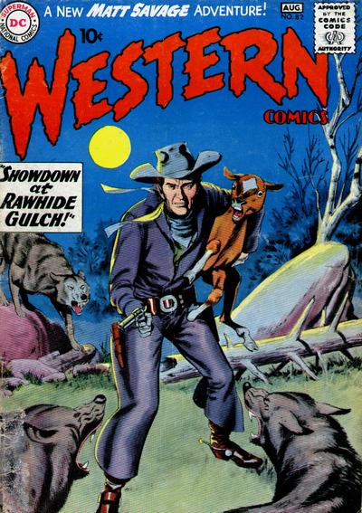 Cover for Western Comics (DC, 1948 series) #82