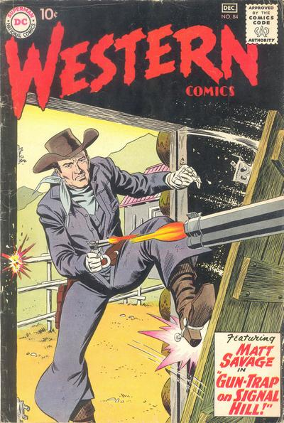 Cover for Western Comics (DC, 1948 series) #84