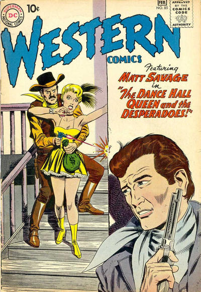 Cover for Western Comics (DC, 1948 series) #85