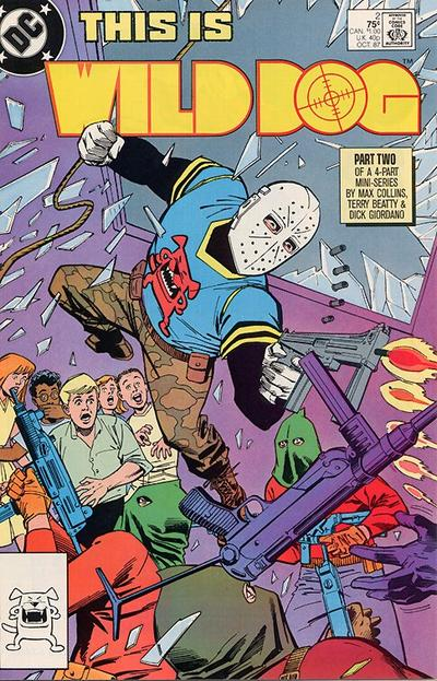 Cover for Wild Dog (DC, 1987 series) #2 [Direct Sales]
