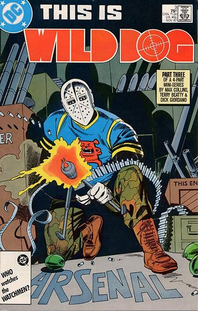 Cover for Wild Dog (DC, 1987 series) #3 [Direct Sales]