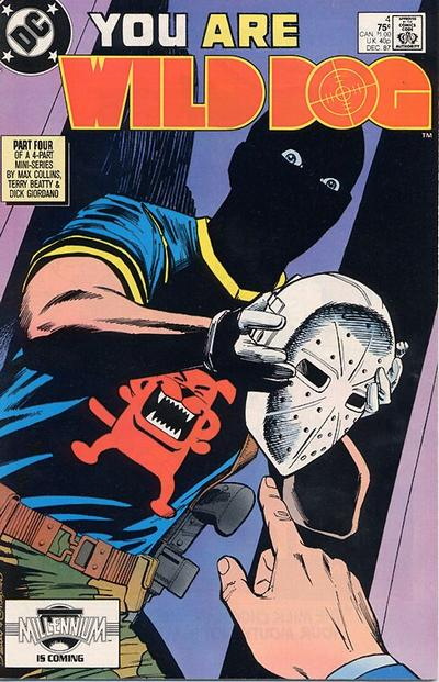 Cover for Wild Dog (DC, 1987 series) #4