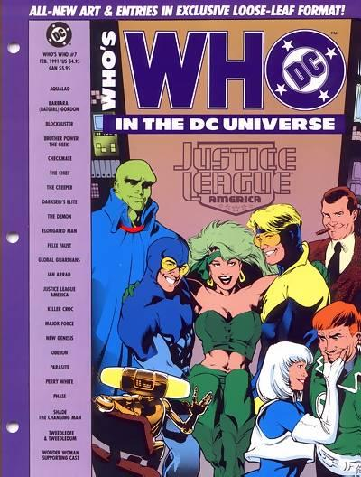 Cover for Who's Who in the DC Universe (DC, 1990 series) #7