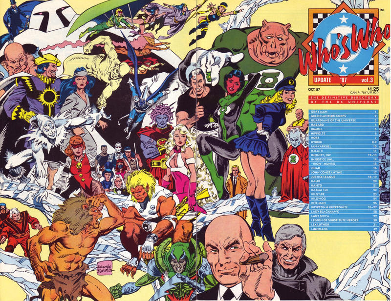 Cover for Who's Who: Update '87 (DC, 1987 series) #3 [Direct]