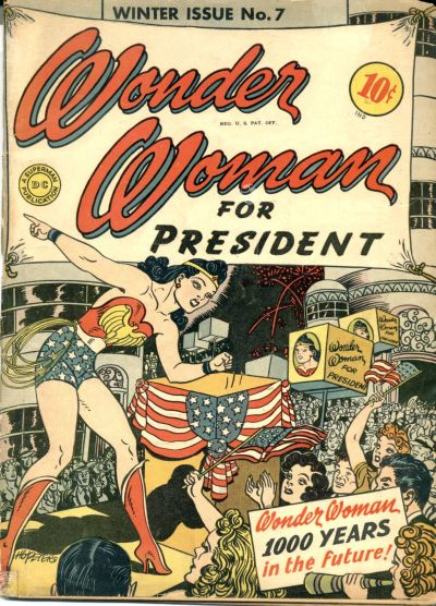 Cover for Wonder Woman (DC, 1942 series) #7