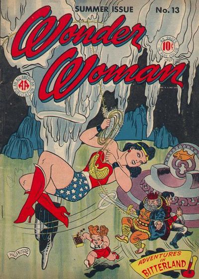Cover for Wonder Woman (DC, 1942 series) #13