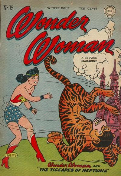 Cover for Wonder Woman (DC, 1942 series) #15
