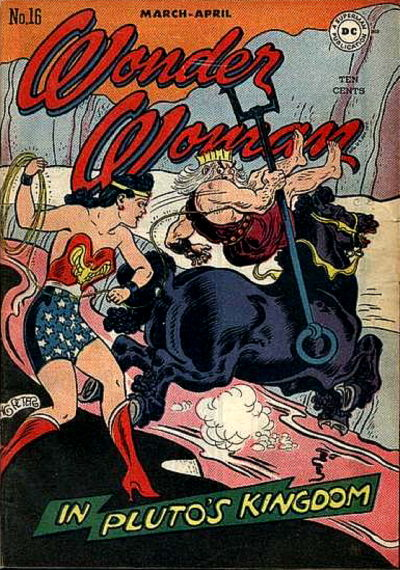 Cover for Wonder Woman (DC, 1942 series) #16